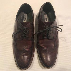 Joseph Abboud wingtip men's lace- up shoes 9W Br